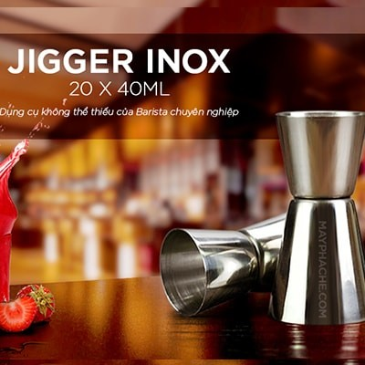 Jigger inox 10 x 30ml